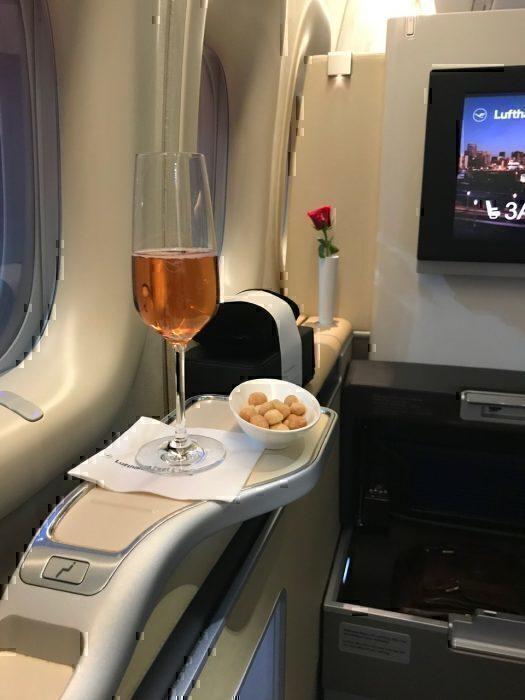 Lufthansa pr-departure