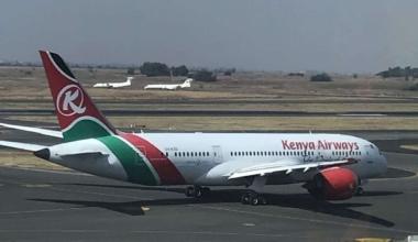 Kenya Airways 787