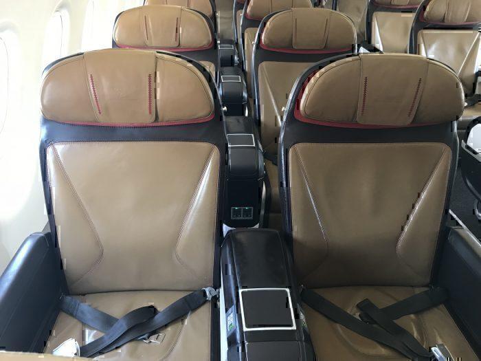 SAA A320 Business Class