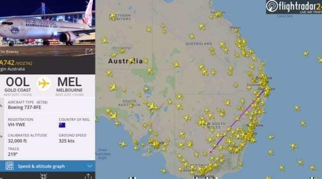 Virgin Australia 737 business class review