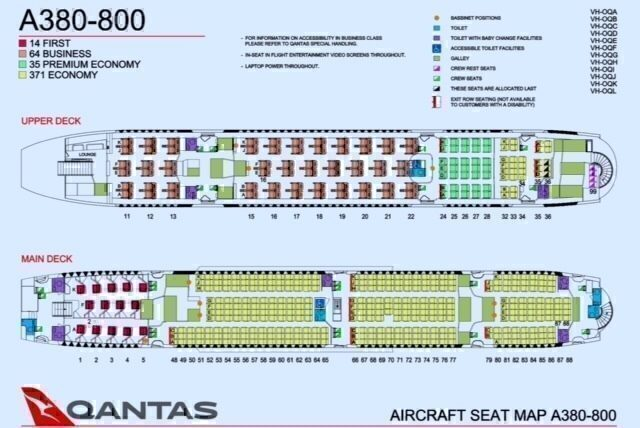 What Are The Best Seats On A Qantas A380 ? - Simple Flying
