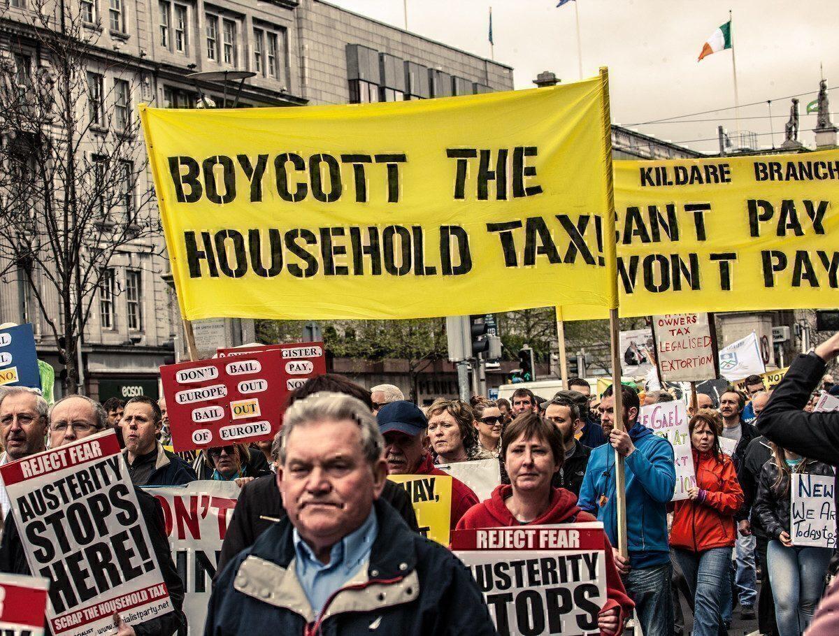Boycott The Household Tax - Dublin
