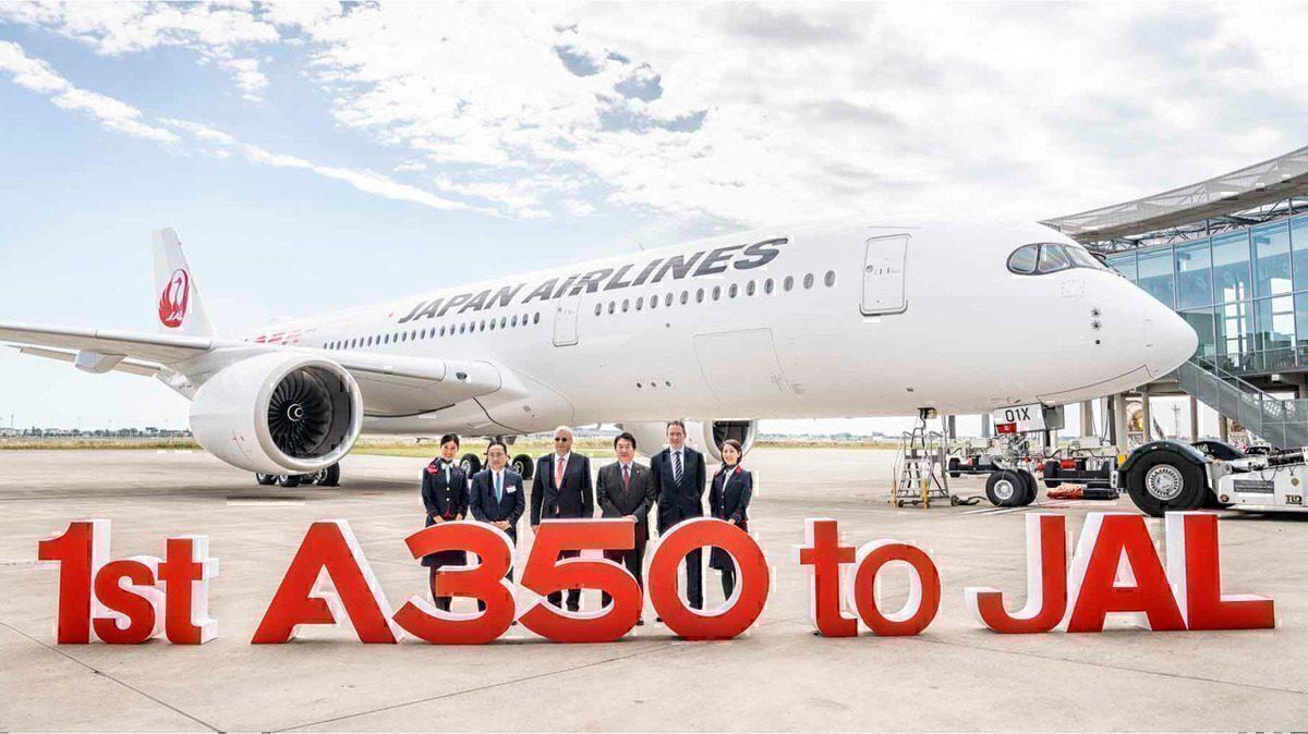Resultado de imagen para japan airlines A350 Airbus