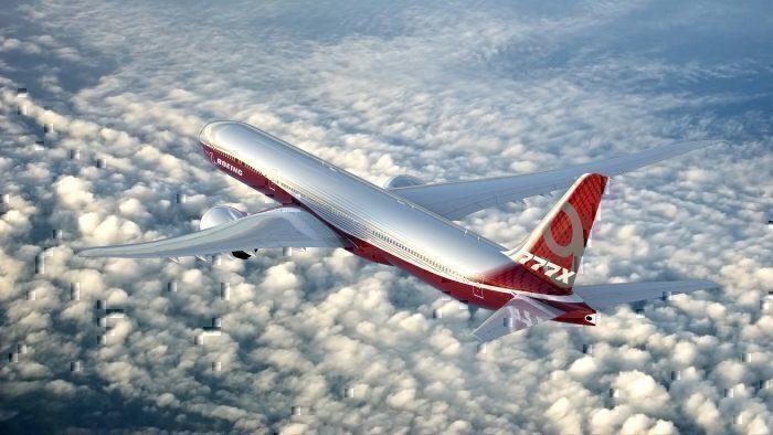 Boeing 777X Paris Air Show