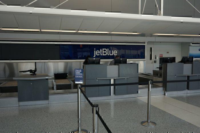 JetBlue Checkin Counter