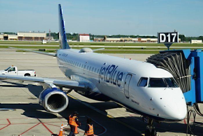 JetBlue Parked Plane