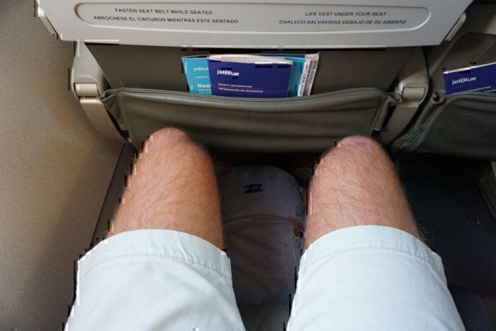 Economy Seat Leg Room