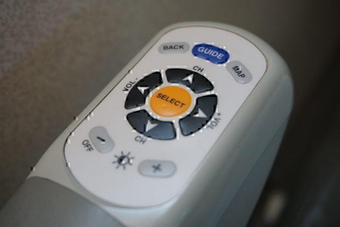 Seatback Screen Remote
