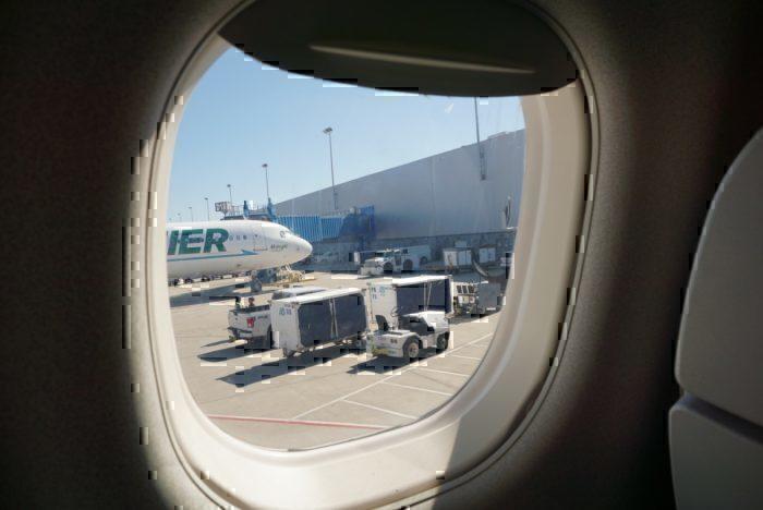 Frontier Airlines Window View