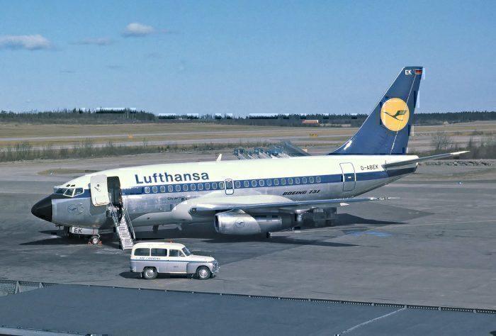 Lufthansa 737