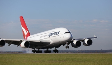 Qantas Schedules One Off Airbus A380 Flight To Orlando Florida Screen reader support enabled.