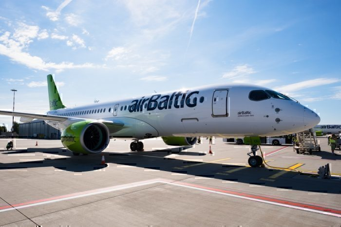 airBaltic Airbus A220-300 Extended Range
