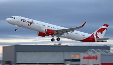Air Canada Rouge Airbus A321