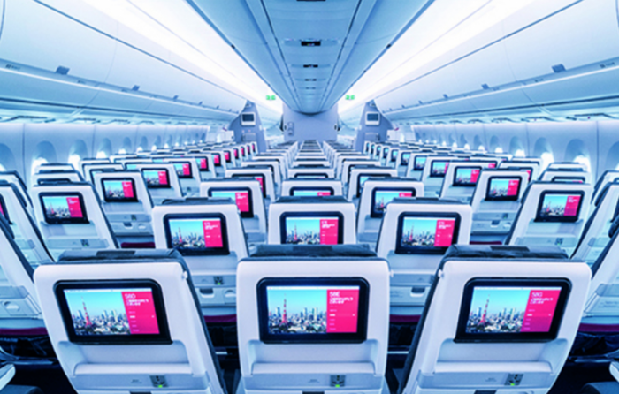 JAL A350 Economy