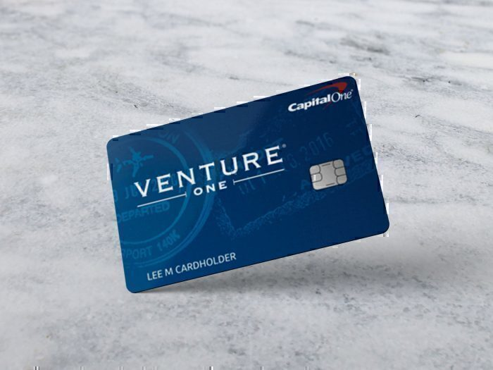 The Capital One VentureOne card