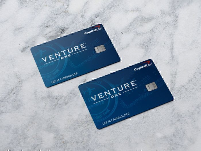 Capital One VentureOne card