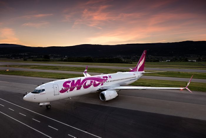 Canadian Low Cost Carrier Swoop Hits 1 Million Passengers