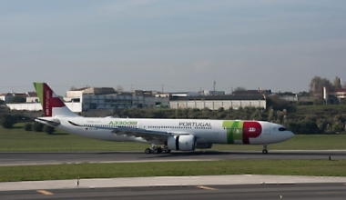 TAP A330neo on runway