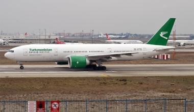 Turkmenistan_Airlines,_EZ-A778,_Boeing_777-22K_LR_(31124208674)