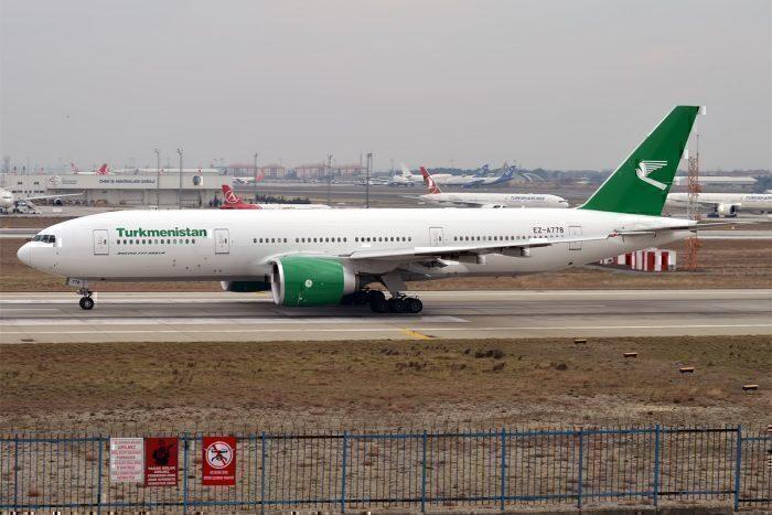 Turkmenistan Airlines Orders A Single Boeing 777-200LR