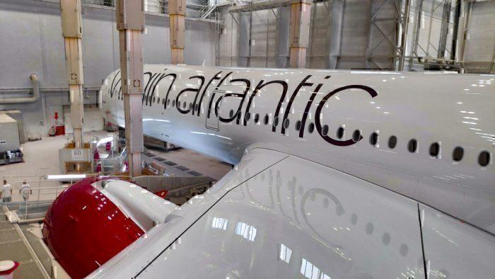 Virgin A350 side