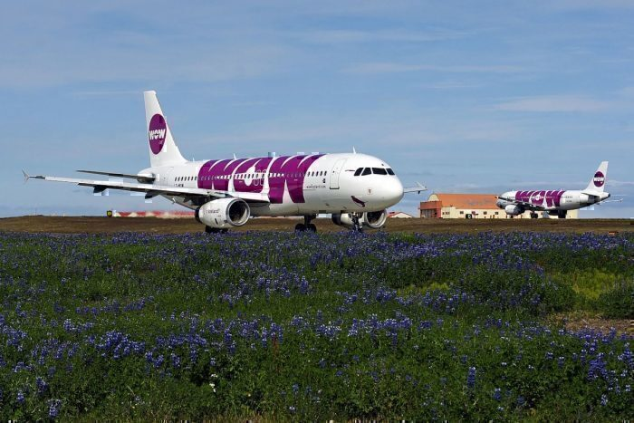 WOW air at KEF