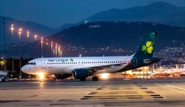 Aer Lingus Nice Inaugural Flight