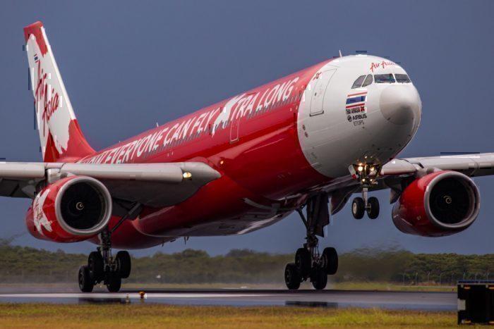 Thai Air Asia X Brisbane