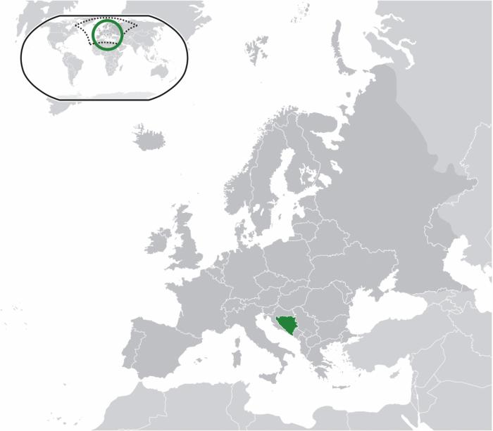 Bosnia and Herzegovina in Europe