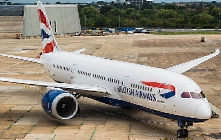 British Airways Boeing 787 Diverted to Istanbul Following