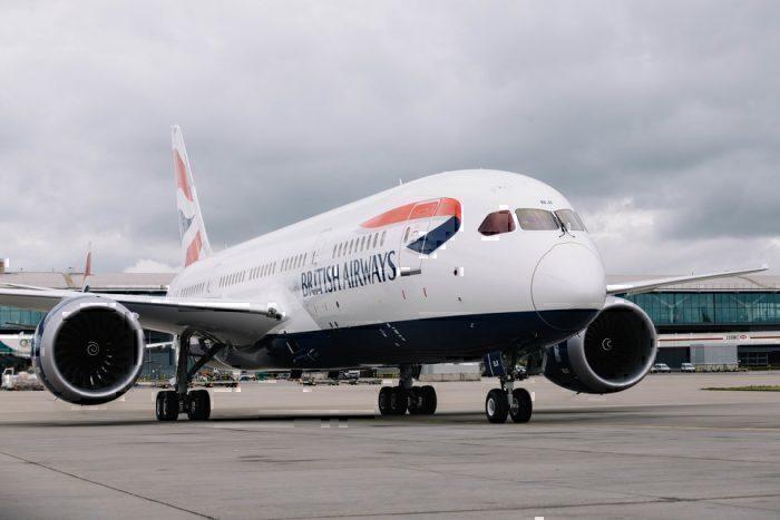 British Airways 787-800