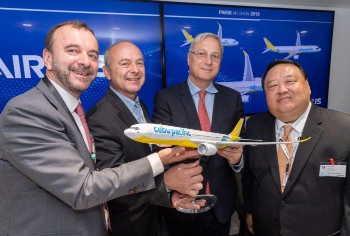 Airbus announce cebu order