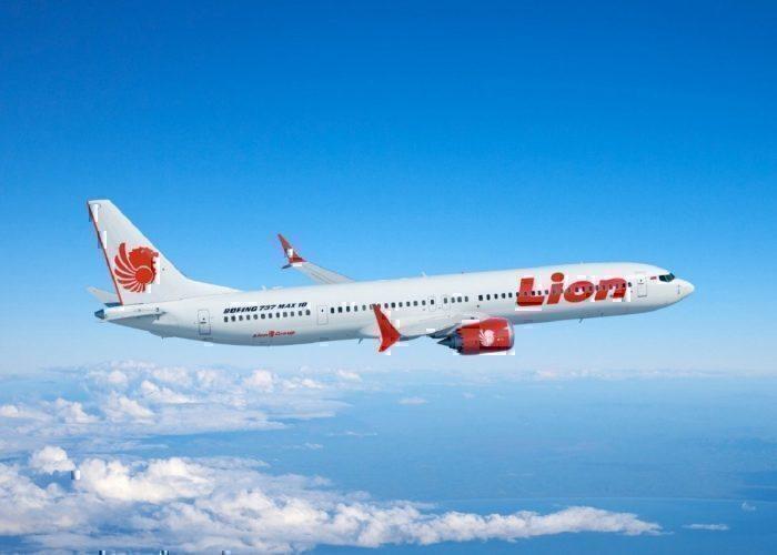 Lion Air Boeing MAX in flight