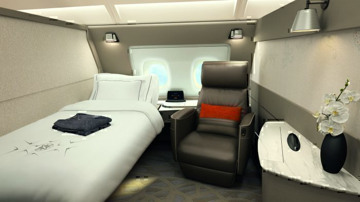 Singapore Airlines Plans New First Class For Its 777X Aircraft