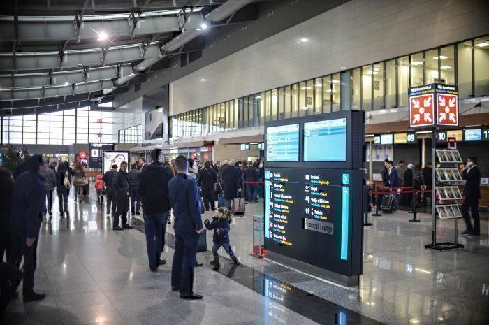 Pristina Airport interior