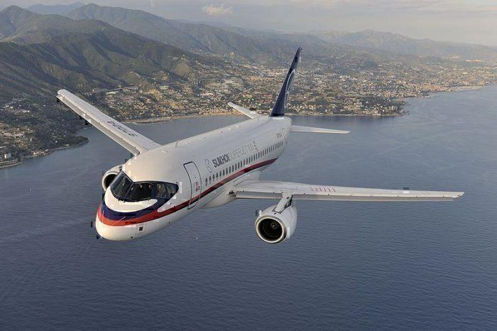 Adria Airways Sukhoi