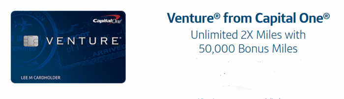 Venture Rewards sign up bonus