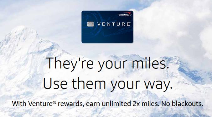 Earn Venture Miles