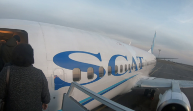 SCAT Airlines Boeing 737-300