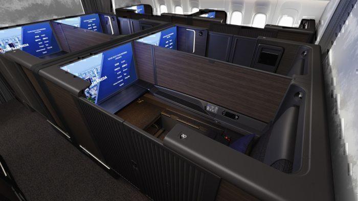 ANA Boeing 777 Refit First Class