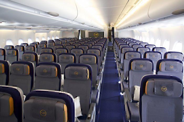 Lufthansa A380 cabin