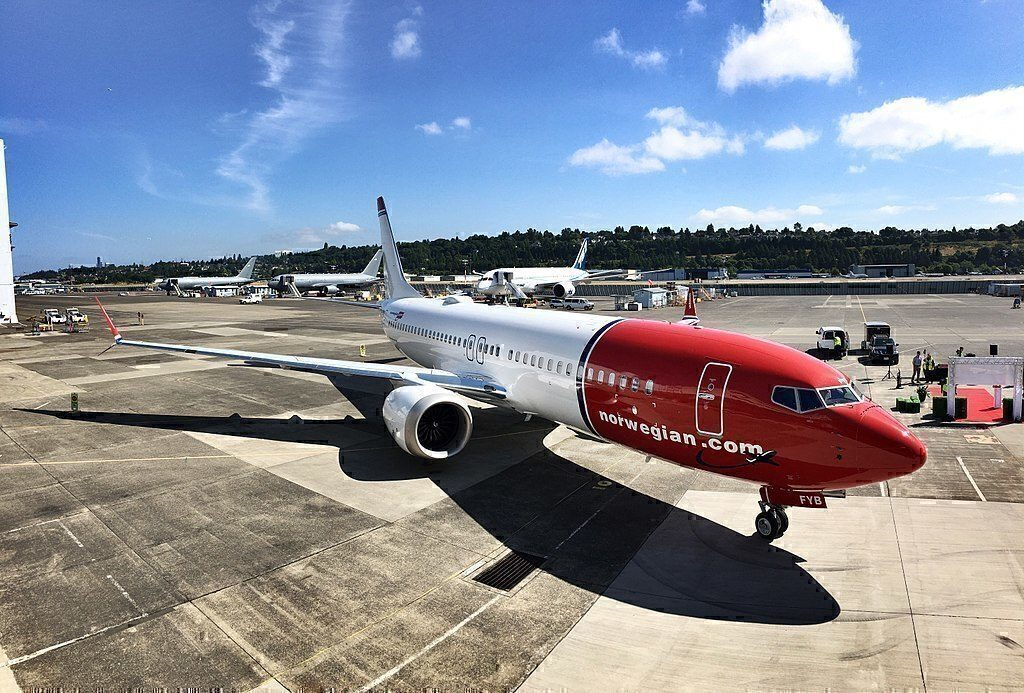NAI 737MAX at gate
