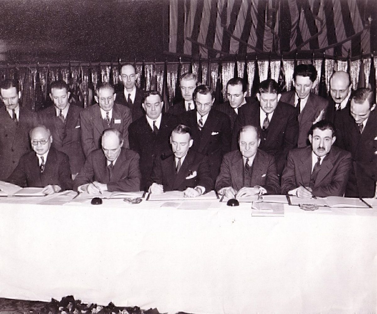 Signing of the Chicago Convention of 1944