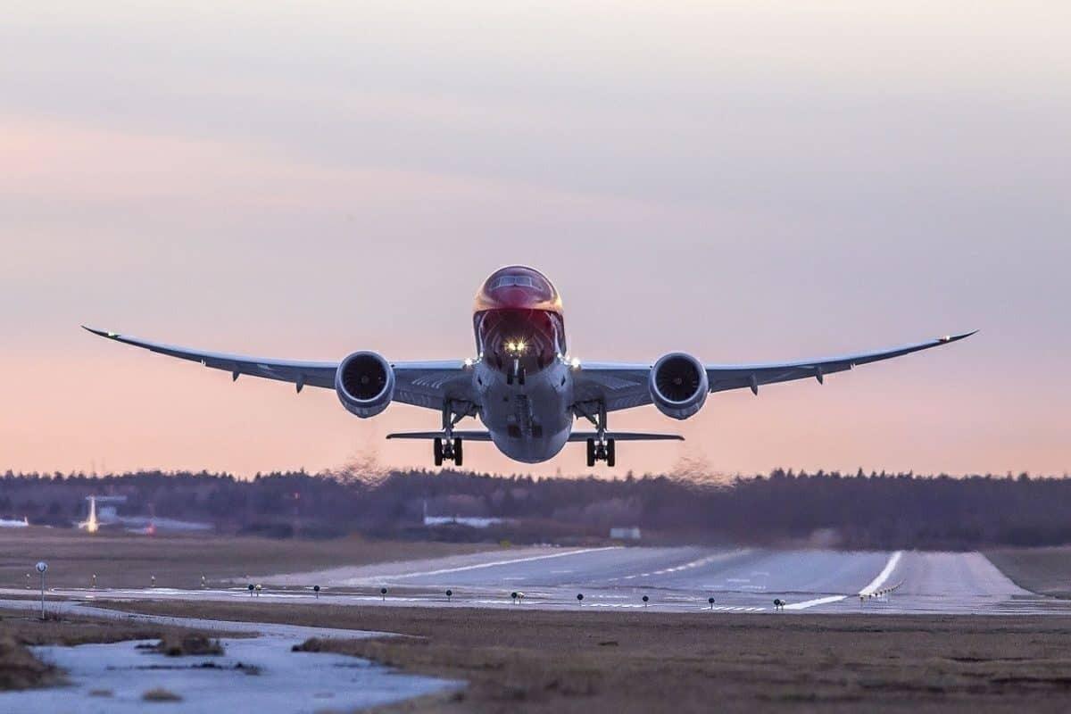 NAI 787 departue
