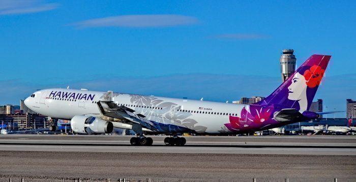 Hawaiian Airlines in Vegas