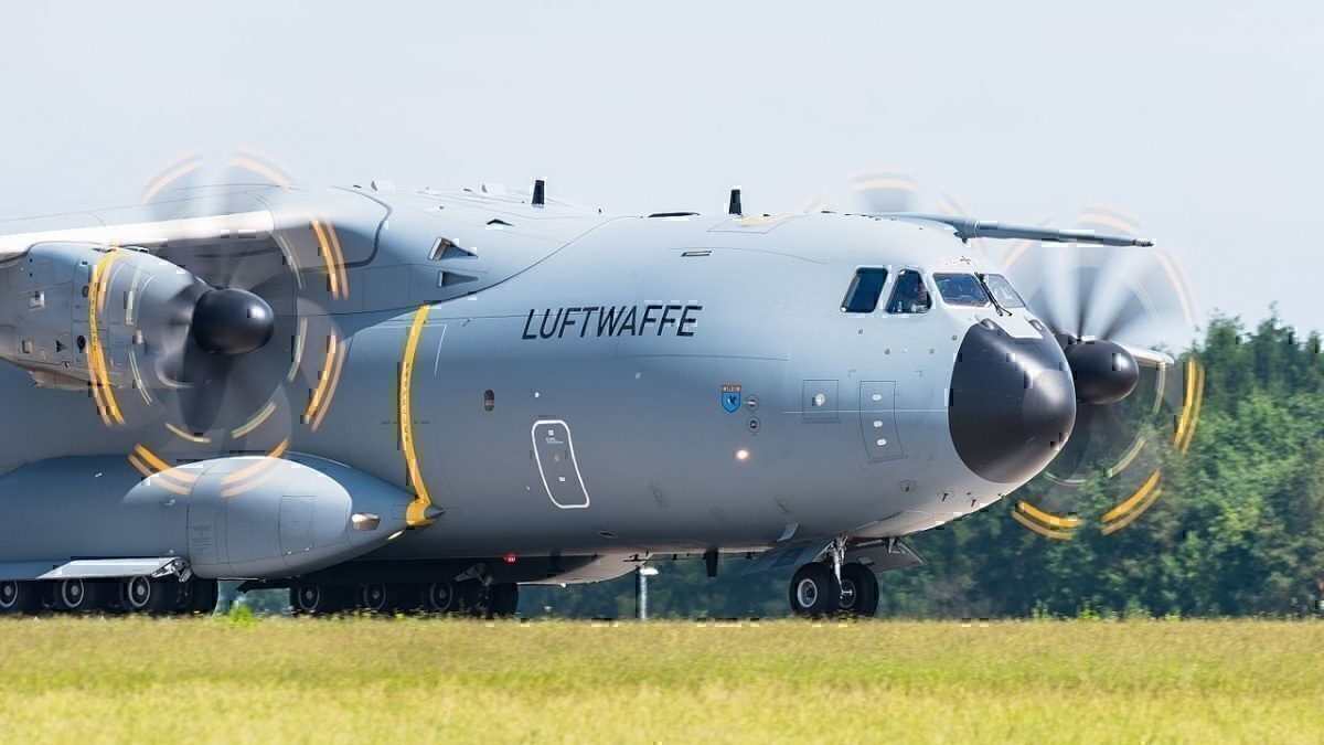German Air Force Airbus A400M