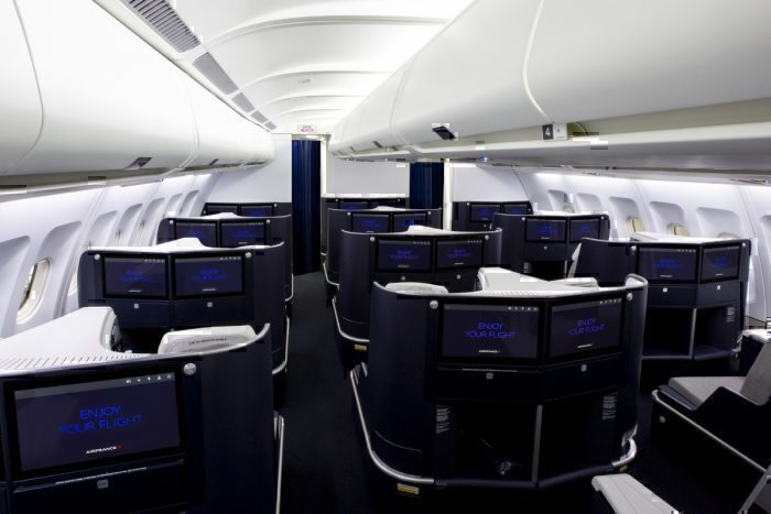 Air France New A330 Business