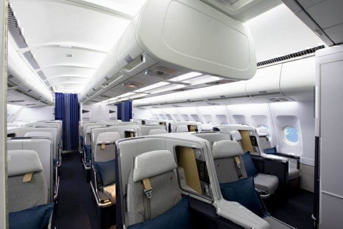 Air France New A330 Business cabin