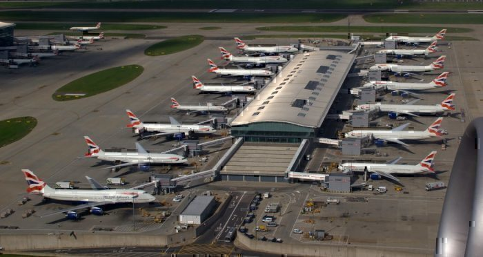 British Airways at LHR
