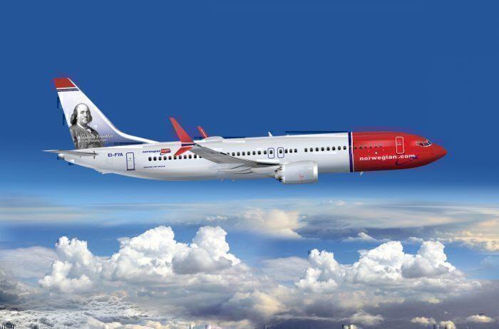 Norwegain 737 MAX